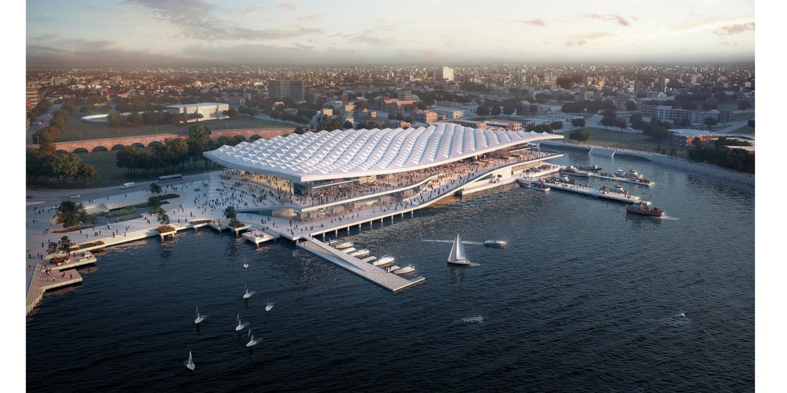 New Sydney Fish Market Design Revealed